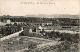 69. Grigny. Le Pont De La Rotonde - Grigny