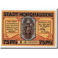 Billet, Allemagne, Nordhaussen, 75 Pfennig, Personnage, 1921, 1921-05-01, SPL - Germany