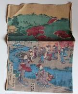 Peinture Sur Toile Asiatique Geisha Rivière Paysage JAPON JAPAN - Asian Art