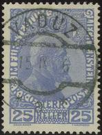 25 Heller Yb-Type Gest., Feinst. M? 500.- 25 Heller Yb-Type Gest., Feinst. M? 500.- - Liechtenstein