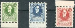 Geburtstag 1925 **, Feinst. M? 240.- Geburtstag 1925 **, Feinst. M? 240.- - Liechtenstein