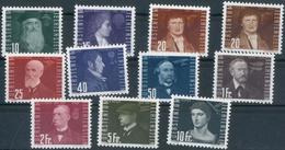 Flug 1948 ** Inkl. Nr. 259 A Und B, Feinst. M? 250.-+ Flug 1948 ** Inkl. Nr. 259 A Und B, Feinst. M? 250.-+ - Liechtenstein