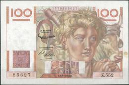 100 Franc 6.8.1953, Erhaltung I-II 100 Franc 6.8.1953, Erhaltung I-II - France