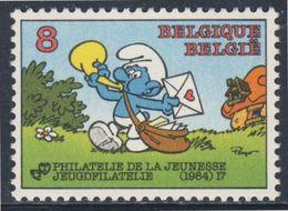 Belgie Belgique Belgium 1984 Mi 2202 YT 2150 ** Smurf Postman / Schlumpf Postbote By Peyo / Comic Strip / Stripfiguur - Post