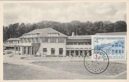 Jauche ,maisons De Cure Et De Repos Charles De Hemptinne ;timbre N°839 Sanatorium Jauche 4 Fr + 2  Fr De 1951 - Orp-Jauche