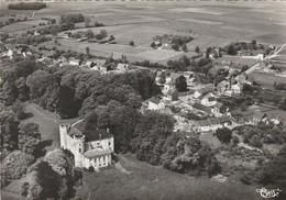 Linsmeau ,vue Aérienne ,le Chateau Et Panorama , Ac 63-7 A - Hélécine