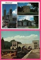 5 Cp - Tournai - Doornik - Pont Des Trous - Tour Henri VIII - Cathédrale - Eglise St Quentin - Vieilles Voitures - NELS - Tournai