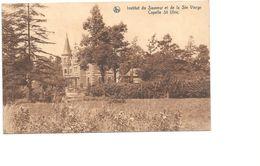 Sint-Ulriks-Kapelle, Capelle St Ulric, Institut Du Sauveur Et De La Ste Vierge, Kasteel, 1935 Met 2 Postzegels. - Dilbeek