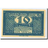 Billet, Allemagne, Neuhaus A.d Elbe, 10 Pfennig, Maison, 1921, 1921-04-01, SPL - Germany