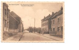 Sint-Ulriks-Kapelle, Capelle St Ulric, Brusselse Steenweg 1938, Vrachtwagen, Met Postzegel. - Dilbeek
