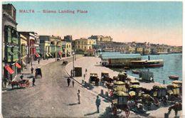 MALTA - Siliéma Landing Place     (103161) - Malte