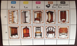 South Africa 1992 Antique Furniture Sheetlet MNH - Ungebraucht
