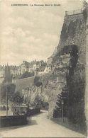 Ref X118- Luxembourg - Luxemburg - Le Neueweg Dans Le Grund  - Carte Bon Etat - - Unclassified
