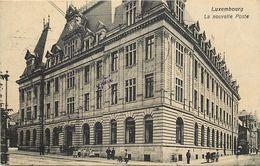 Ref X117- Luxembourg - Luxemburg - La Nouvelle Poste  - Carte Bon Etat - - Luxemburg - Town
