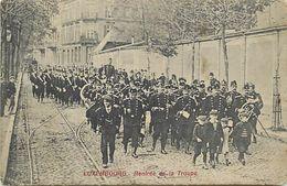 Ref X116- Luxembourg - Luxemburg - Rentrée De La Troupe - Militaires - Militaria   - Carte Bon Etat - - Luxemburg - Town
