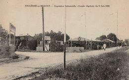 CPA ORGÈRES EN BEAUCE (28) EXPOSITION INDUSTRIELLE - COMICE AGRICOLE DU 9 JUIN 1929 - France