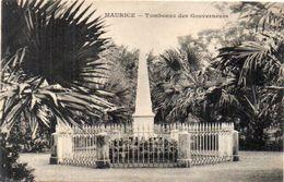 MAURICE - Tombeau Des Gouverneurs - Messageries Maritimes      (103167) - Maurice