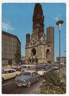 Allemagne--BERLIN -- Gedachtniskirche  (petite Animation , Belles Voitures En Beau Plan ) - Allemagne