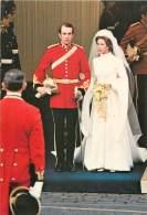 PAYS DE GALLES - LA PRINCESSE ANNE ET SON MARI LE LIEUTENANT MARK PHILLIPS, WESTMINSTER ABBEY, 14 NOVEMBRE 1973 - Pays De Galles