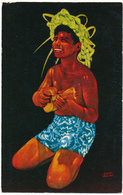 Hawaiian Boy, Ukulele - Bill Erwin - Etats-Unis