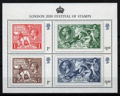 GB 2010 Mini Sheet Celebrating Festival Of Stamps In Unmounted Mint Condition. - Blocks & Miniature Sheets
