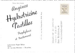 Carte Publicitaire Avec Affranchissement Préo 1959/1960. - Préoblitérés