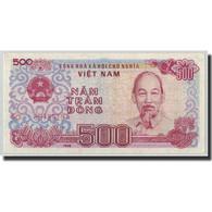 Billet, Viet Nam, 500 D<ox>ng, 1988, KM:101b, NEUF - Vietnam