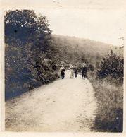 PHOTO FRANÇAISE DU 21e DRAGONS - LES HUBIETS - BELGES DE LOUETTE SAINT PIERRE FUYANT LA BATAILLE - AOUT 1914 - 1914-18