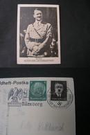 DR Adolfkarte Nürnebrg - Deutschland