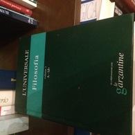 GARZANTINE VOLUME 1 FILOSOFIA - Books, Magazines, Comics