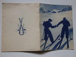 Livret Sur Les Conseils Aux Skieurs Par Un Chasseur Alpin. - Winter Sports