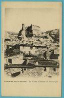 CPA 84 FONTAINE DE VAUCLUSE Chateau De Petrarque (précurseur) - France