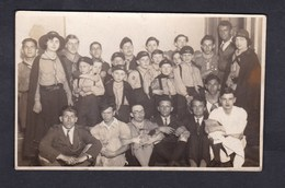 Carte Photo Nancy Scoutisme Fete Des EUF Groupe Nancy I Meute Troupe Equipe Scout Scoute Mai 1933 - Nancy