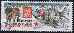 5167 - 75 Ans Régiment De Chasse Normandie-Niémen - Oblitéré(cachet Rond)- 2017 - Gebruikt