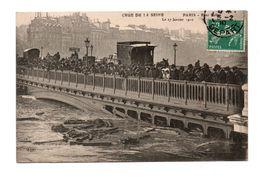 75 - PARIS . CRUE DE LA SEINE . PONT SULLY LE 27 JANVIER 1910 - Réf. N°7974 - - Paris Flood, 1910