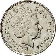 Grande-Bretagne, Elizabeth II, 10 Pence, 2004, TTB+, Copper-nickel, KM:989 - 1971-… : Monnaies Décimales