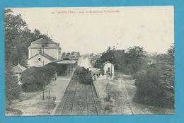 CPA 99 - Chemin De Fer Train En Gare De MONTAUBAN 82 - Montauban