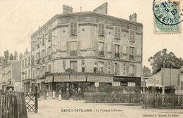 CPA - Le RAINCY-PAVILLONS (93) - Aspect Du Quartier Du Passage à Niveau Et De La Brasserie Bière Comète En 1907 - Le Raincy