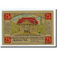 Billet, Allemagne, Wernigerode, 25 Pfennig, Gare, 1921, 1921-03-01, SPL - Germany