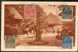 Exposition Coloniale De 1931  -Cameroun Togo - Vue D'ensemble Du Grand Pavillon - Exhibitions