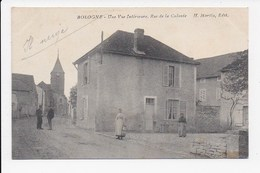CPA 52 BOLOGNE Une Vue Interieure Rue De La Colonie - Autres Communes