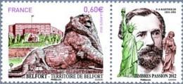 France Art Sculpture N° 4697 ** Belfort - Lion De Belfort Par Frédéric Auguste Bartholdi - Escultura