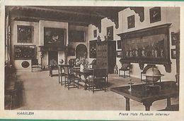 ! - Pays-Bas - Carte Postale De Haarlem (Intérieur Frans Hals Museum) - Avec Cob TX35 - 1923 Amsterdam - Lettres & Documents