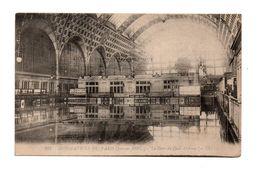 75 - PARIS . INONDATIONS DE PARIS 1910 . LA GARE DU QUAI D'ORSAY - Réf. N°7978 - - Paris Flood, 1910
