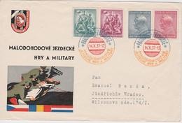 TCHECOSLOVAQUIE 1937 LETTRE DE PARDUBICE - Briefe U. Dokumente