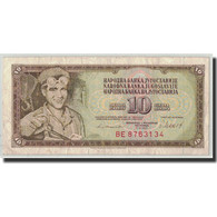 Billet, Yougoslavie, 10 Dinara, 1981, 1981-11-04, KM:87b, TB - Yugoslavia
