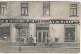 Kormend. Christian Co-operative Supply Store. - Hungary