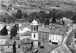 43-LEMPDES- PLACE DE L'EGLISE VUE DU CIEL - France