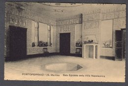 PORTOFERRAIO S. MARTINO Sala Egiziana Della Villa Napoleonica FP NV  SEE  SCAN - Altre Città