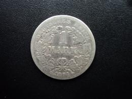 ALLEMAGNE : 1 MARK  1874 F  KM 7  TB - [ 2] 1871-1918: Deutsches Kaiserreich